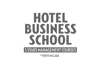 Logo Hotel Business School - Fortevillage e Luiss Business School
